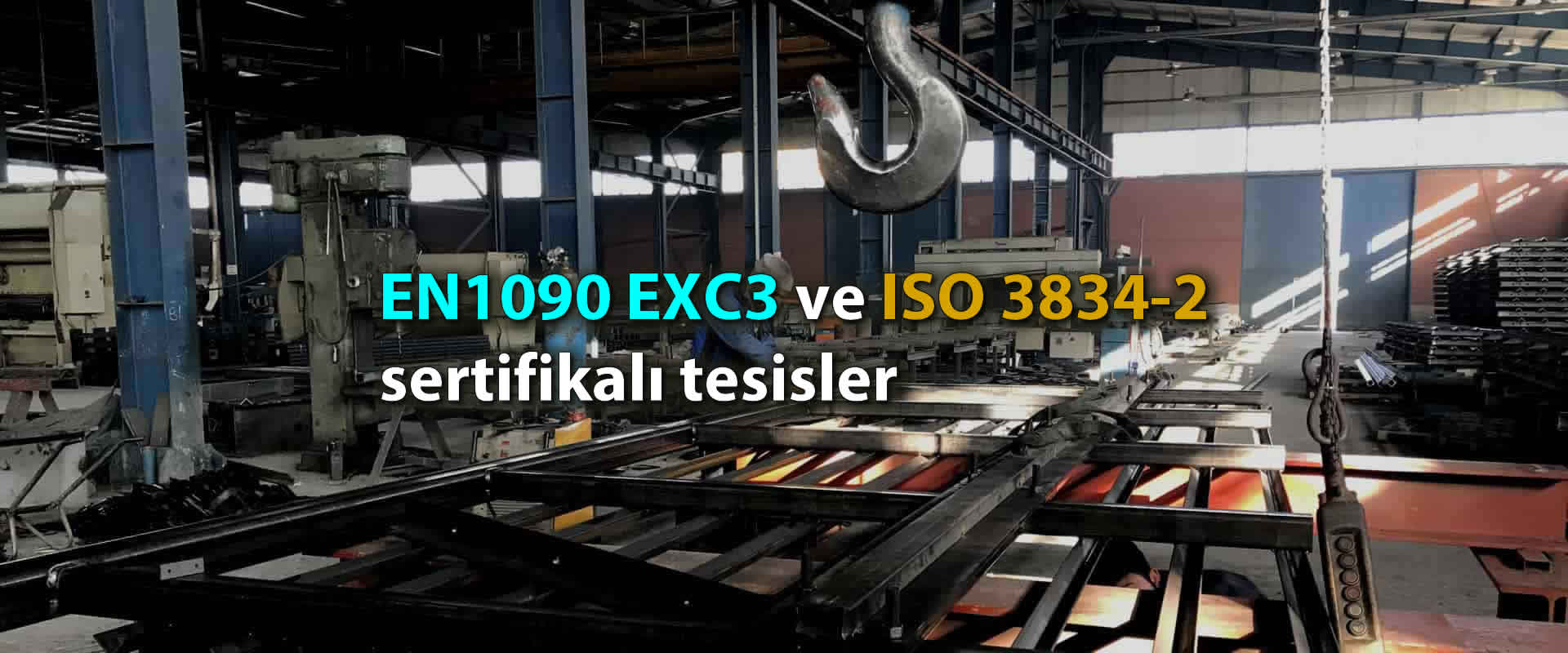 EN1090 EXC3 and ISO 3834-2
