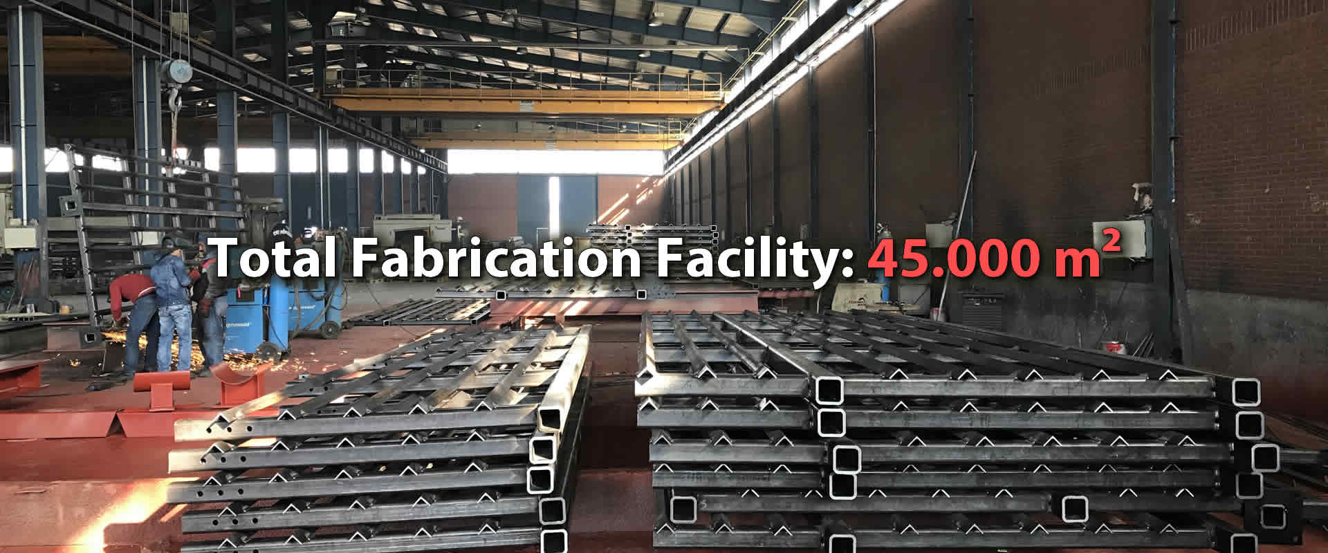 Total Fabrication Facility 45.000 m2